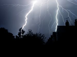 lightning was striking today :-)