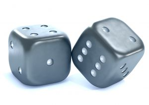 "To what extent, when writing, are you comfortable ""rolling the dice""?"