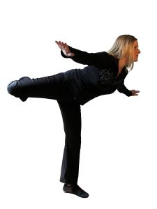 girl-in-black-clothes---balancing-1189552-m
